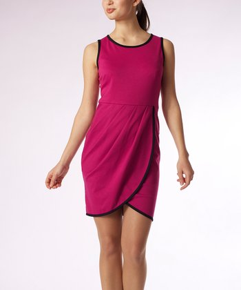 Fuchsia Greene Tulip Dress