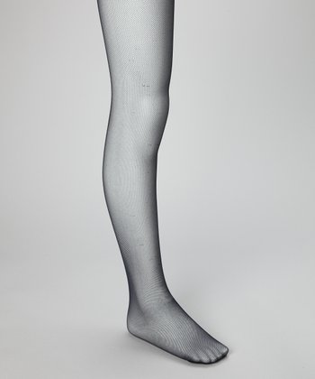 Blue Resille Tights - Girls