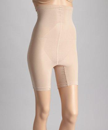 Franzoni Neutral High-Waisted Perfect Shaper Shorts - Women