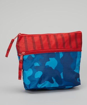 Red & Blue Travel Pouch