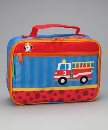 Fire Truck Lunch Box
