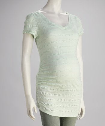 Mint Maternity V-Neck Tunic