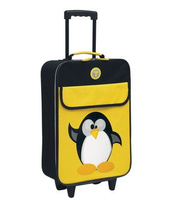 Black & Yellow Penguin Wheeled Carry-On