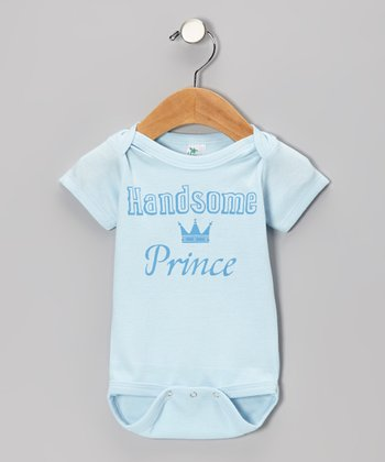 Blue 'Handsome Prince' Bodysuit - Infant