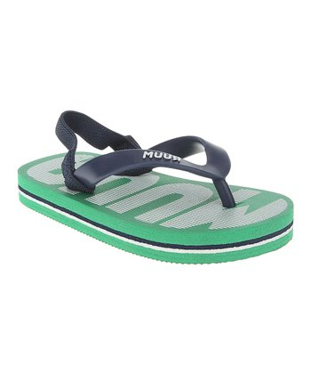 Kelly Green 'RUUM' Flip-Flop