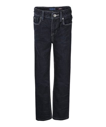 Dark New York Wash Skinny Jeans - Boys