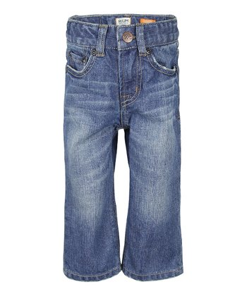 Medium Wash Tint Rinse Loose Jeans - Infant, Toddler & Boys