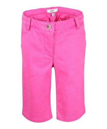 Tulip Petal Bermuda Shorts - Girls