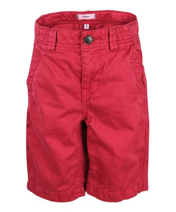 Chili Pepper Chino Shorts - Boys