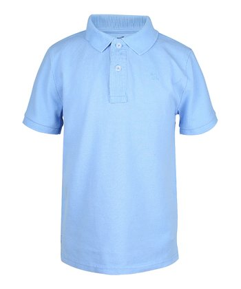 Sailing Blue Polo - Boys