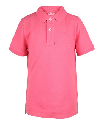 Guava Jam Polo - Infant, Toddler & Boys
