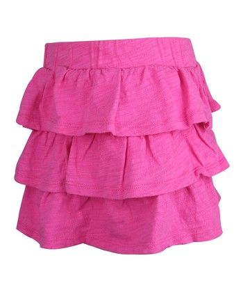 Tulip Petal Tiered Ruffle Skirt - Infant, Toddler & Girls