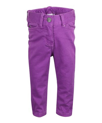 Magenta Purple Pants - Infant, Toddler & Girls