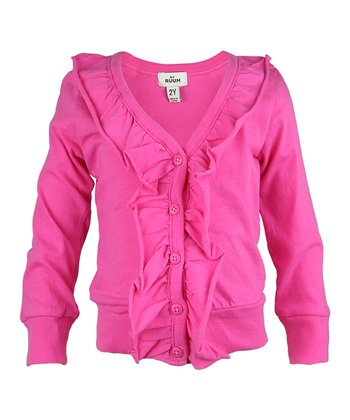 Tulip Petal Ruffle Cardigan - Infant, Toddler & Girls