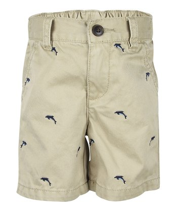 Toast Dolphin Shorts - Infant & Toddler