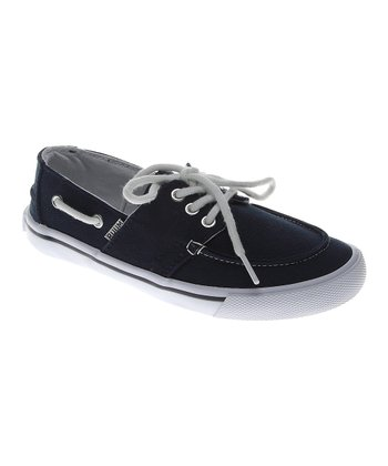 Petrol Blue Boat Shoe