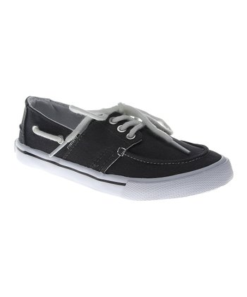 Thunderstorm Gray Boat Shoe