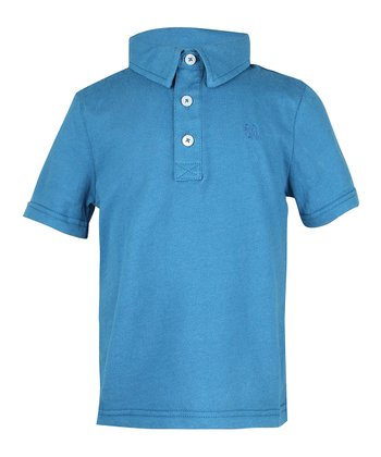 Teal Petal Polo - Infant, Toddler & Boys