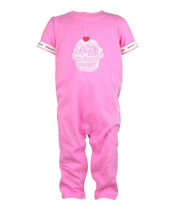 Peony Cupcake Playsuit - Infant