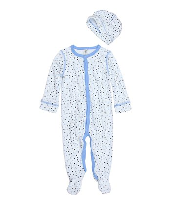 Sailing Blue Star Footie & Beanie - Infant