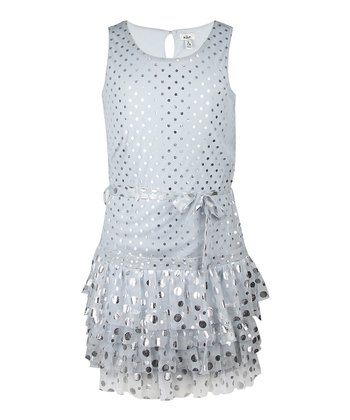 Alloy Sequin Dot Dress - Girls