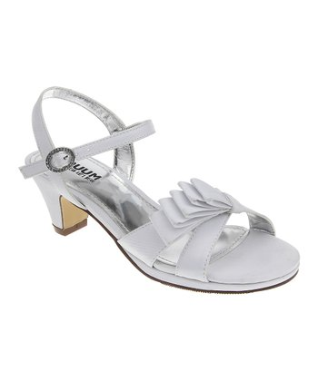 White Bow Dress Sandal
