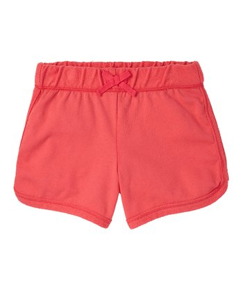 Guava Jam Knit Shorts - Girls