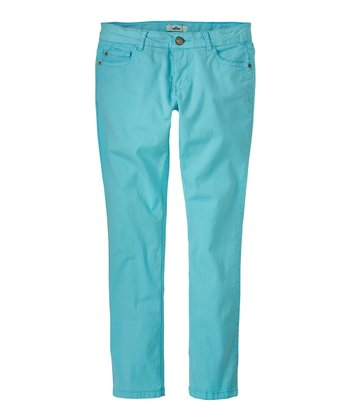Blue Dream Skinny Pants - Girls