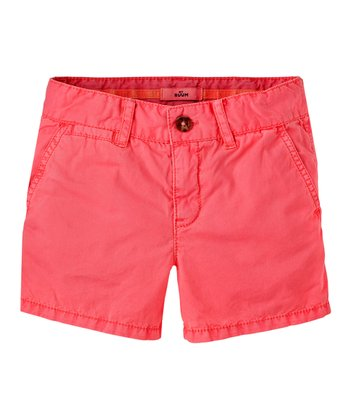 Neon Rose Shorts - Girls