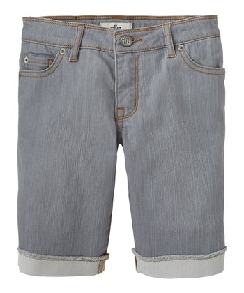Tin Denim Bermuda Shorts - Girls