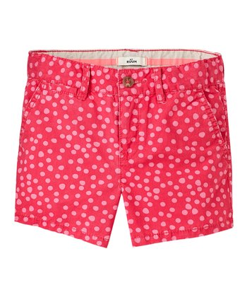 Bella Wash Denim Bermuda Shorts- Girls