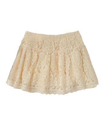 Vanilla Lace Skirt - Girls