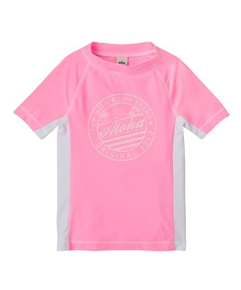 Cotton Candy Rashguard - Girls