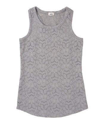 Tin Lace Tank - Girls