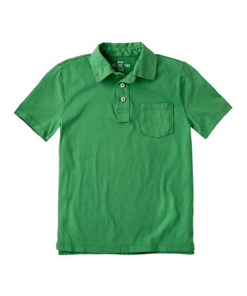 Fresh Leaf Polo - Boys