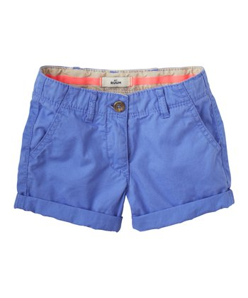 Periwinkle Blue Shorts - Infant, Toddler & Girls