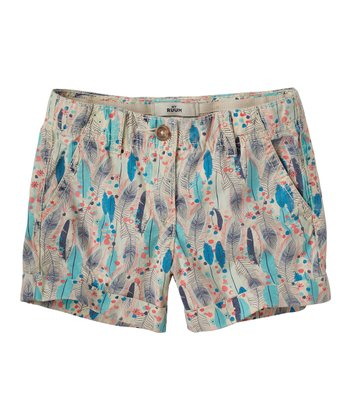 Vanilla Feather Shorts - Infant & Toddler