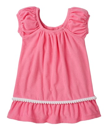Cotton Candy Pom Pom Cover-Up - Infant, Toddler & Girls