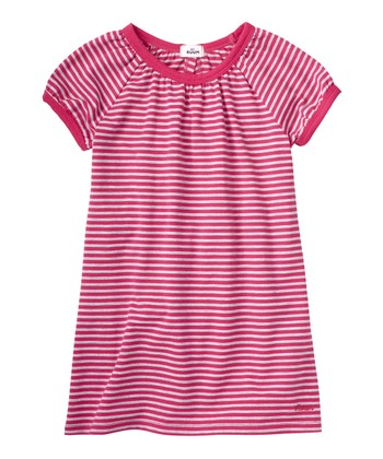 Raspberry Ruffle Back Dress - Infant & Toddler
