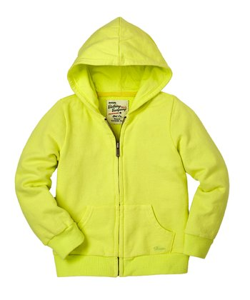 Neon Limon Zip-Up Hoodie - Infant & Toddler