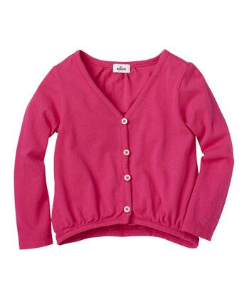 Raspberry Cardigan - Toddler & Girls