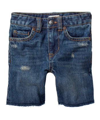 Tokyo Blue Denim Shorts - Infant & Toddler