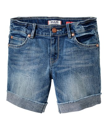 Clara Wash Premium Denim Shorts - Girls