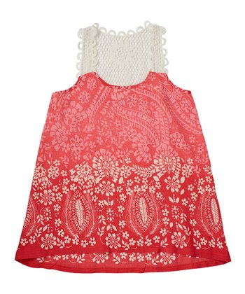 Poppy Crocheted Tank - Girls