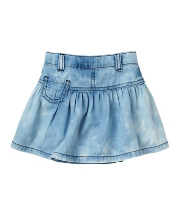 Baby Powder Wash Denim Skirt - Infant & Toddler