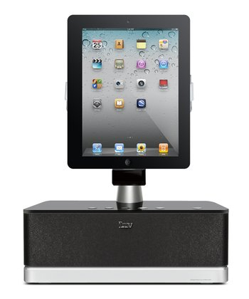 Black The Art Station Pro Speaker Dock for iOS