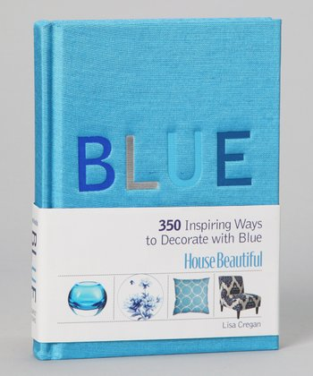 House Beautiful Blue Hardcover