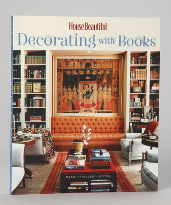 House Beautiful Decorating with Books Paperback
