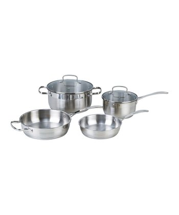 Stainless Steel Six-Piece Cookware Set