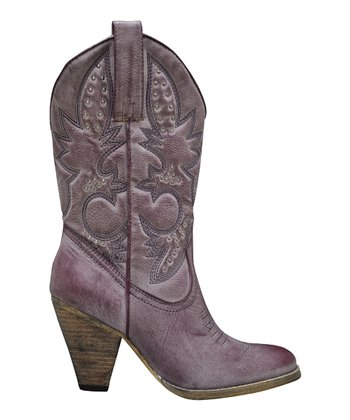Grape Denver Cowboy Boot